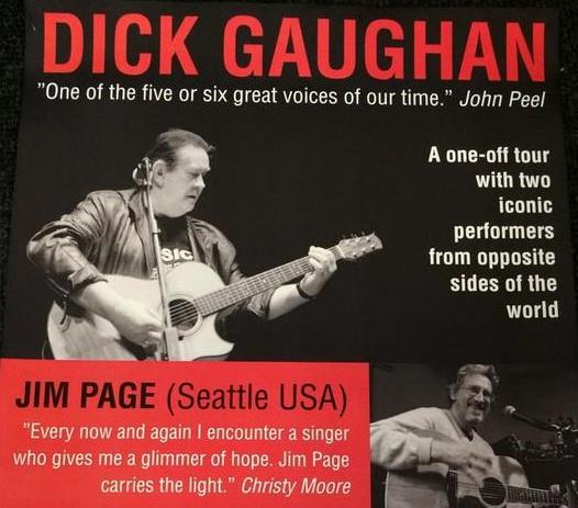 Dick Gaughan and Jim Page poster